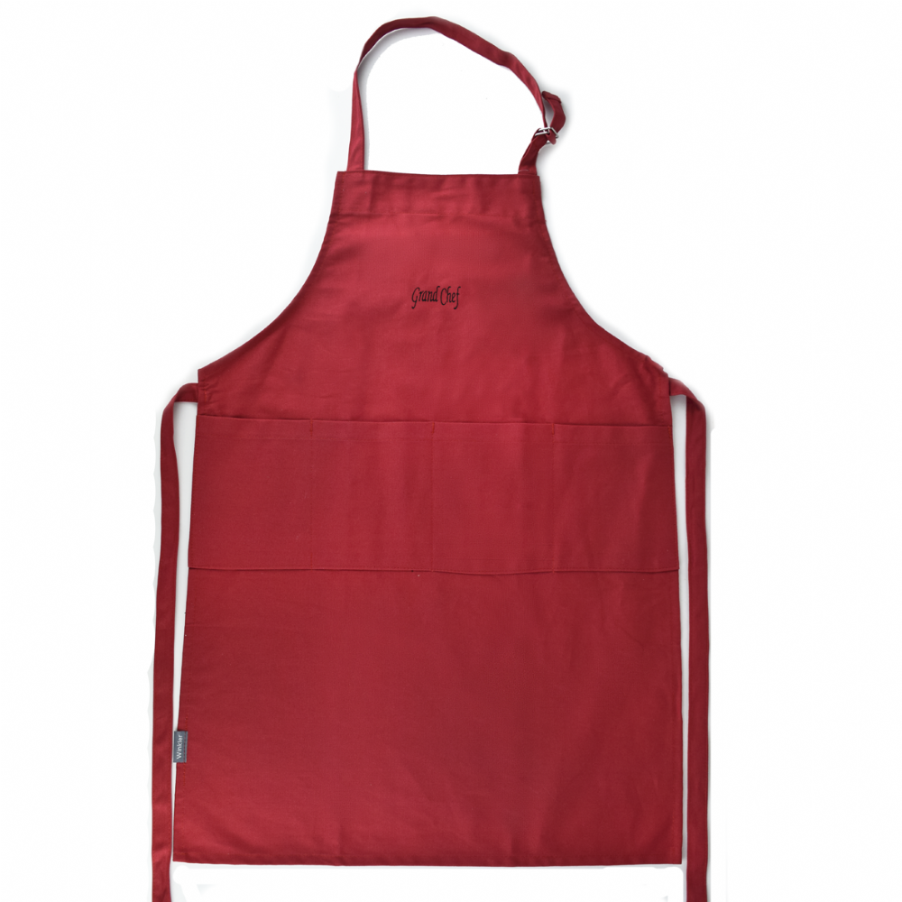 Grand Chef Apron - Rouge